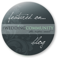 Featured On... The Wedding Community Blog
